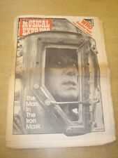 NME 1975 SEPTEMBER 20 WHO IRON MASK PINK FLOYD WINGS ALICE COOPER JIMI HENDRIX