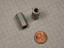 Hexagon Rod Coupling Nut Steel Zinc Plated 516 18 Thread 78 Length