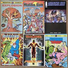 Megaton Explosion 1st Youngblood 2 3 Savage Dragon Ramm Malibu Sun 10 77 78 Lot