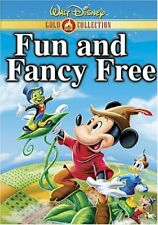 Fun and Fancy Free (DVD, 2000, Gold Collection Edition)