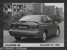 PRESS - FOTO/PHOTO/PICTURE - Hyundai Scoupe GT 1993