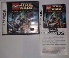 LEGO Star Wars: The Complete Saga (Nintendo DS, 2007) COMPLETE w/ Manual