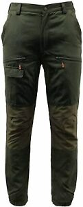 Game Scope Waterproof Trousers Sizes 30in-40in Shooting Hunting Fishing Army