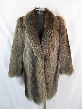 Jil Sander Coat M Raccoon Fur Coat M Racoon Fur Coat Car Coat