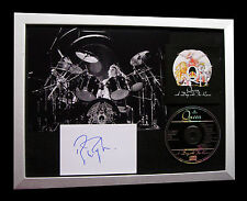 QUEEN+ROGER TAYLOR+SIGNED+FRAMED+BOHEMIAN=100% AUTHENTIC+EXPRESS GLOBAL SHIP