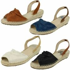 Spot On Wedge Synthetic Sandals for Women