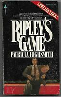 Ripley's Game by Patricia Highsmith [1976 Pyramid #M3744 1st pb - Thriller, VG]