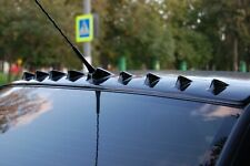Rear Roof Cover 9 Teeth Aerodynamic Visor for Mitsubishi Lancer X 2007-2016