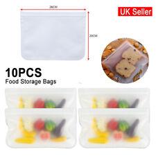26x20cm auto-adhésive silicone alimentaire sacs de stockage congélateur Seal fra...