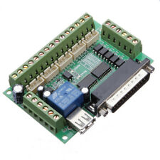 Geekcreit 5 Axis CNC Breakout Interface Board For Stepper Driver Mach3 With USB