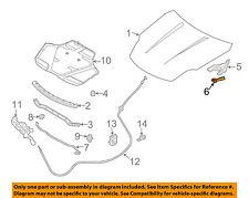 Infiniti NISSAN OEM 03-07 G35 Hood-Hinge Cover Left 65451AM800
