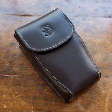 DeVaca Co. Leather Case for Sekonic Light Meter 758, 858, 558, 508- BLACK