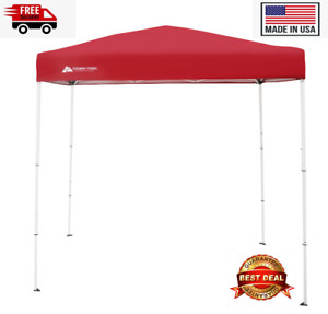 """Ozark Trail 4"""" x 6"""" Instant Canopy Outdoor Shade Shelter, Brilliant Red ✅✅✅"""