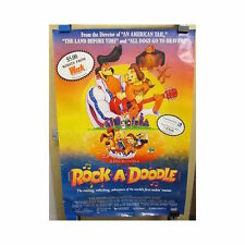 ROCK A DOODLE Original Home Video Poster