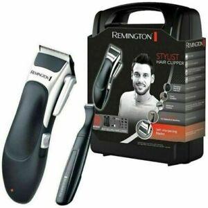 Remington HC366 Stylist Hair Clipper Set - Black/Silver