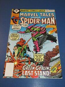 Marvel Tales #99 Bronze age Death of Goblin Key ASM 122 Reprint FVF Spider-man