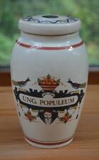 "Dutch ""Oud Delft"" Apothecary/Pharmacy Ware: Large Lidded Jar ""Ung. Populeum"""
