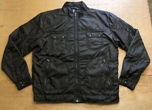 Kuhl Pertex Jacket Full Zip Black Water Resistant Outdoors Size XXL