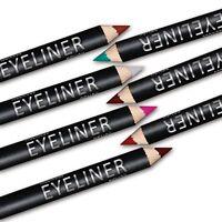 New 12 Color Lip liner Eye Shadow Eyeliner Pencil Pen Beauty Makeup Cosmetic Set