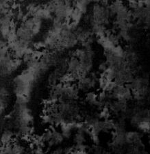 Black Camouflage Texture 100% Cotton Material by the 1/4 yard good for face mask