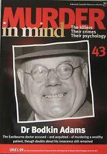 Murder in Mind Issue 43 -  Dr Bodkin Adams
