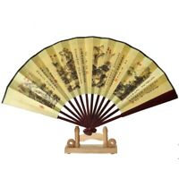 Fächer Bambus Geisha Kirschblüten Handfächer Deko Sommerfächer Kostüme