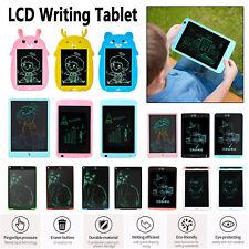 "LCD Writing Tablet 8.5/10/12""LCD Degital Drawing Pad Memo Message Board Gift LOT"