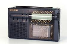 Siemens Weltempfänger RK 712 G4 altes Radio Etui Tasche Kurzbedienungsanleitung
