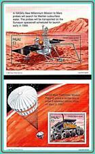 PALAU 1996 MARS SPACE PROJECTS x2 S/SHEETS MNH CV$12.00