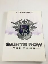 Saints Row the Third Strategy Guide Studio Edition Game Book tips Secrets 350 pg