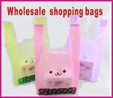 100pcs 18*35cm four color supermarket shopping bag vest bag plastic bags