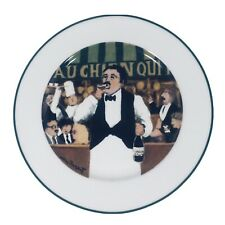 L'Etalage Collection Shopkeepers The Wine Steward Plate Guy Buffet Salad Plate