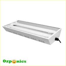 PROPAGATION LIGHT WITH 2X55W LAMP T5 TUBE 6400K GROWLUSH HYDROPONICS PROPAGATOR