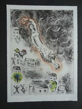 CHAGALL: coloured etching mint condition 1976 kolorierte  Original- Radierung