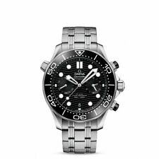 OMEGA Diver 300M Co-Axial Master Chronometer Chronograph Men's Black Watch - 210.30.44.51.01.001