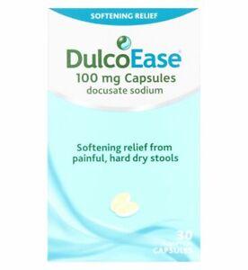 DulcoEase Soft Gel 100mg - 30 Capsules MULTI BUY OFFER!