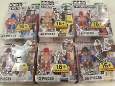 Kre-O Transformers Custom Kreon Collection 1 Full Set *Optimus...