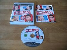 PS3 game - Truth or Lies (complete PAL) needs microphone