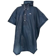 Trespass Adults Mens/womens Navy Canopy Packaway Festival Rain Poncho