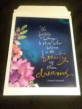 Wall Art The future belongs to those who believe in the beauty of their dreams