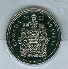 2005-P Half Dollar 50 Fifty Cent Canada/Canadian BU Coin
