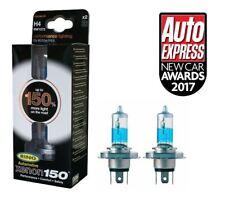 Ring Xenon150 Premium H4 12v Car 150% Brighter Upgrade Headlight Headlamp Bulbs