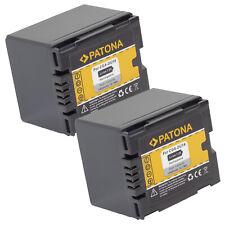 2x Batteria Patona 7,2V 1400mAh per Hitachi DZ-GX5060,DZ-GX5060E,DZ-GX5060SW