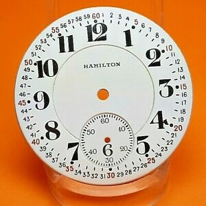Perfect 16s, 21j Hamilton 992  Pocket  Watch Dial and Hands