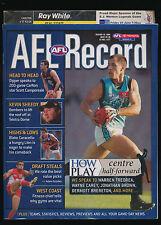 2004 AFL Football Record Carlton Blues vs St Kilda Saints May 28-30 unmarked