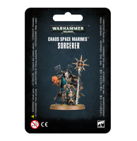 Chaos Sorcerer Chaos Space Marines 40K Warhammer Sealed