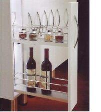 Unterschrankauszug, Flaschenauszug, Apothekerauszug, Küchenauszug 150 mm Rechts