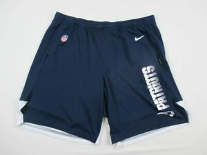New England Patriots Nike Shorts Men's Navy Dri-Fit Used XLarge
