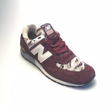 54843ac3fa28b New Balance 576 USA Burgundy Athletic Running Shoes (US576CM4) - Mens Size  9.5