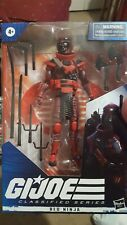 G.i. joe classified Red ninja Cobra figure HASBRO 6 inch